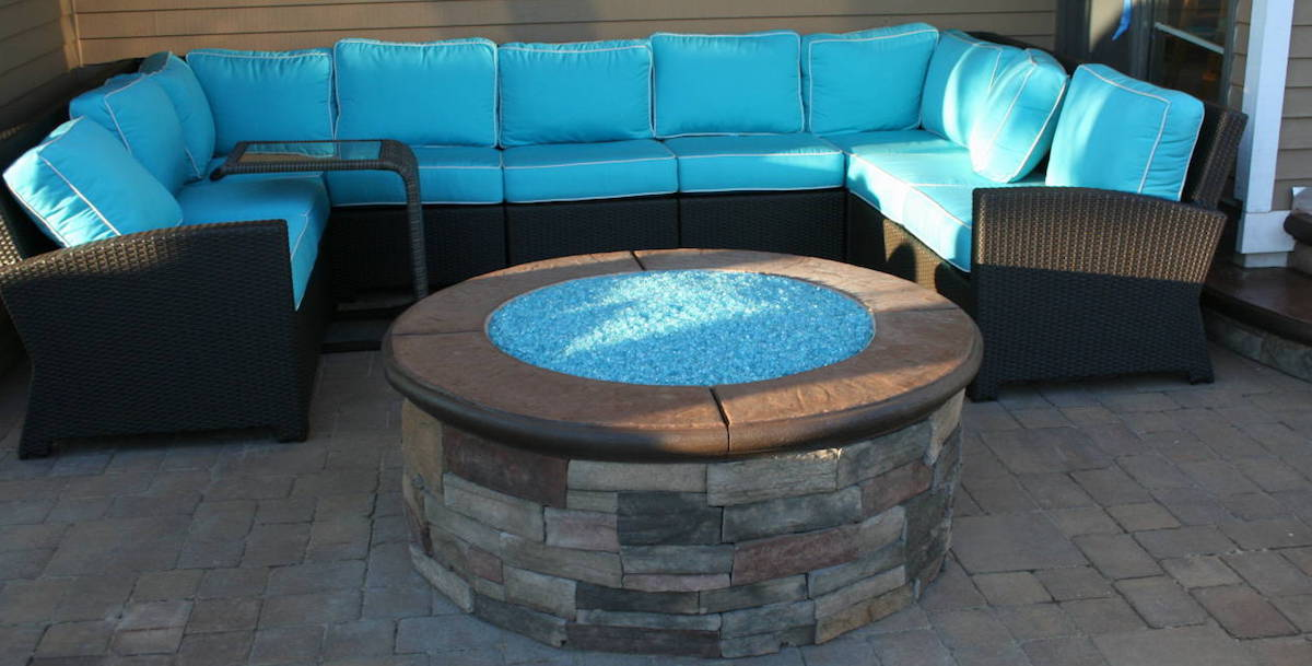 custom fire pits designed and installed in New Jersey