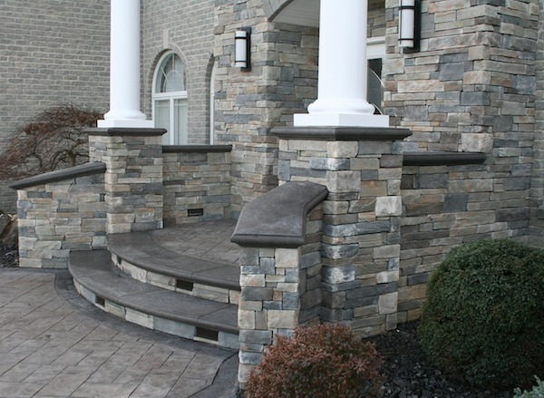 custom bullnose steps and wall caps in Freehold NJ