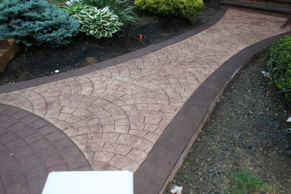 Stamped Concrete Walkway - Gallery