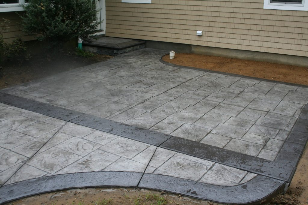 Stamped Concrete Patio - Gallery