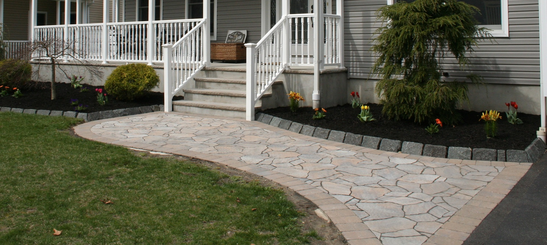 stamped concrete contractor in Brick NJ