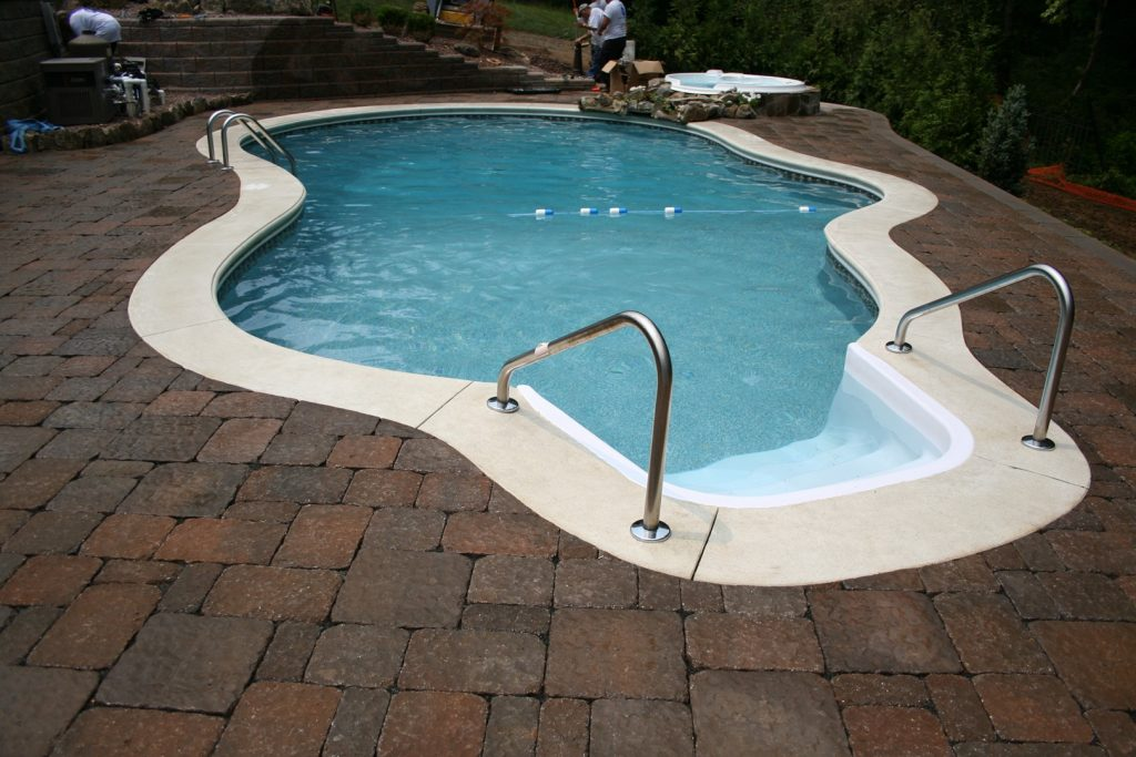 Pool Patio Pavers - Gallery