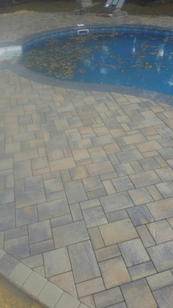 pavers for a pool patio installation - Patio Installation