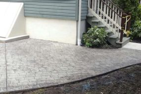 Stamped Concrete Completed Project in Asbury Park NJ