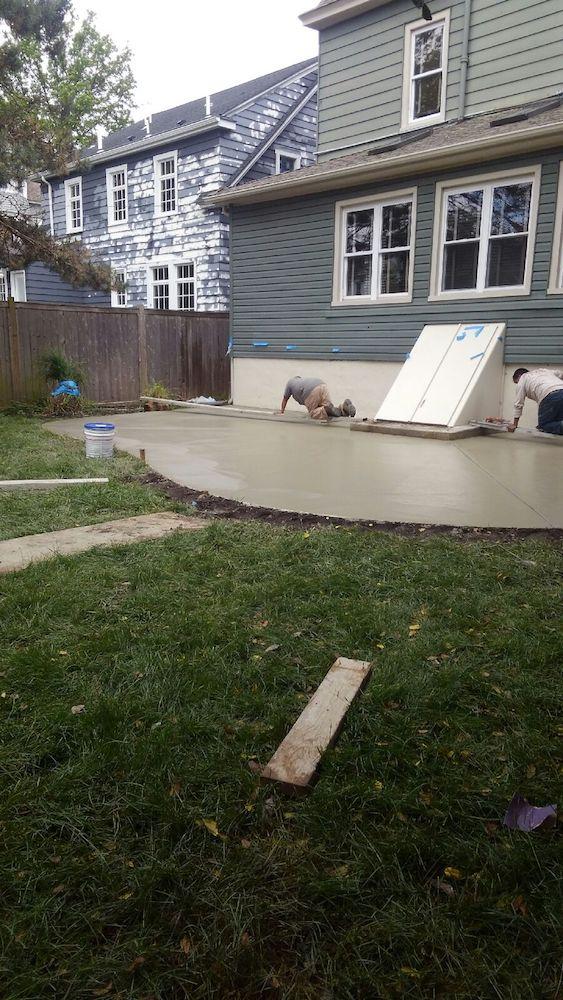 Stamped Concrete Installation Asbury Park 2018