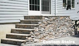 custom stairs - masons contractors