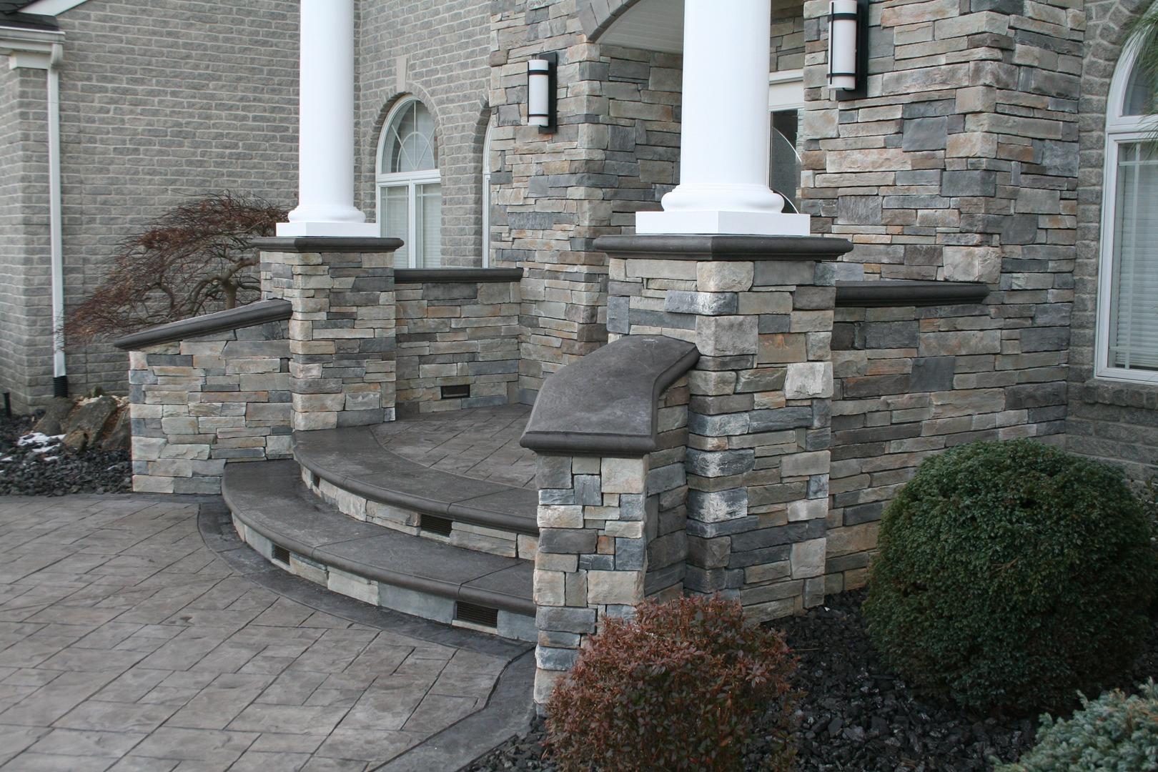 Stone Entrance Steps