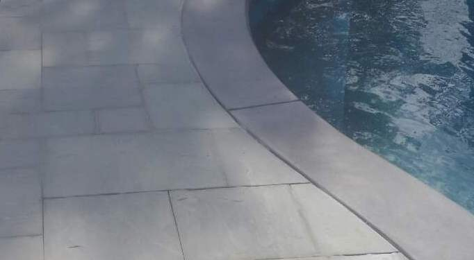 Bluestone Pool Patio
