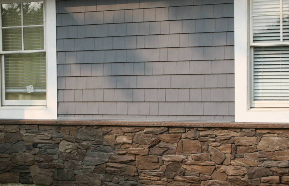 Stone on House Siding Wall NJ