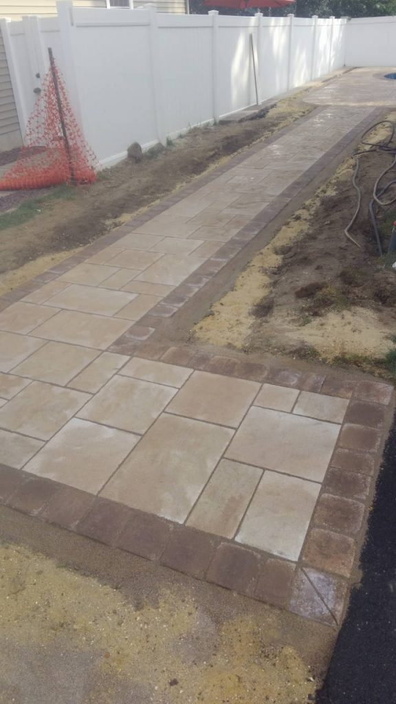 Paver Path Walkway point pleasant nj