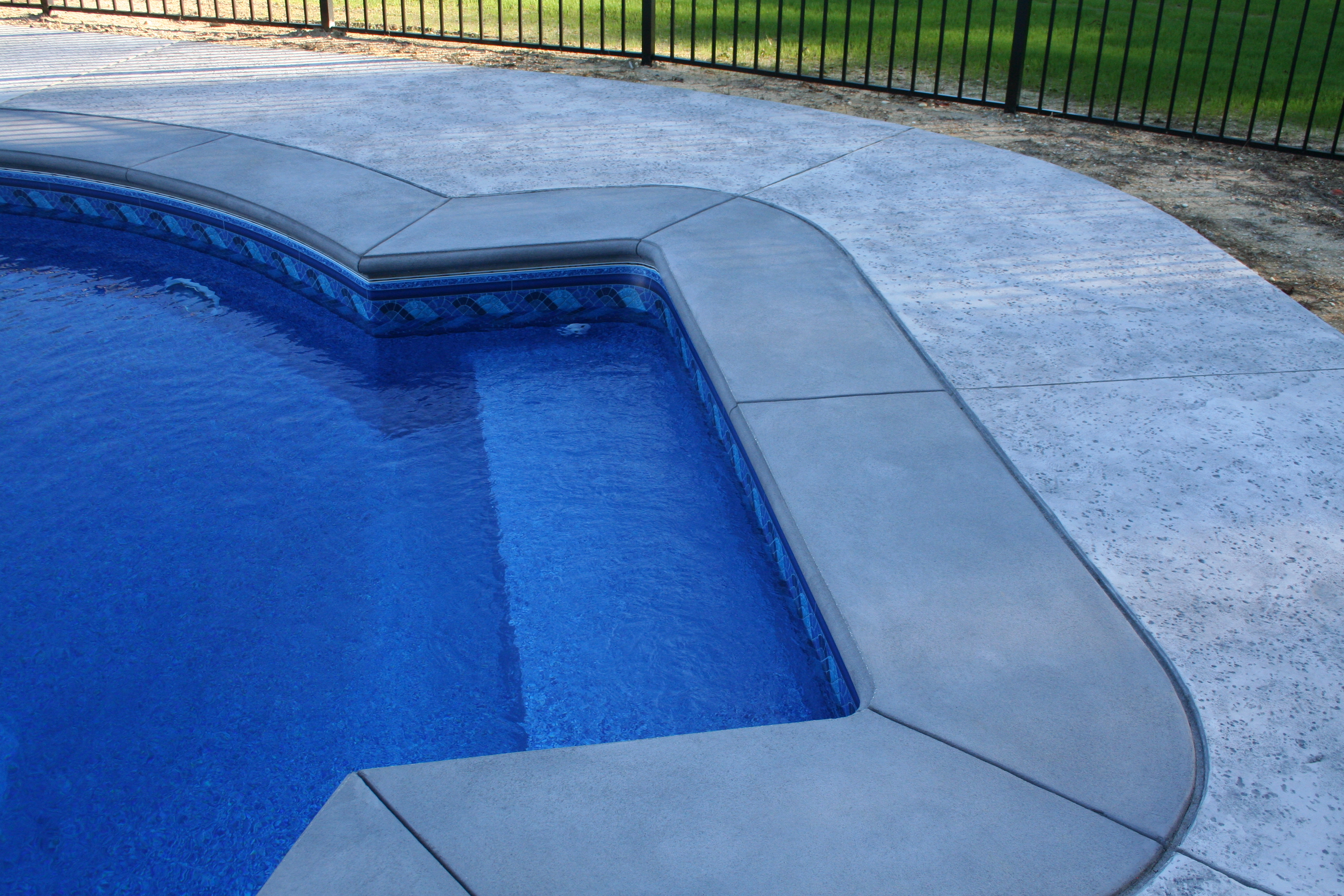 Concrete Pool Patio