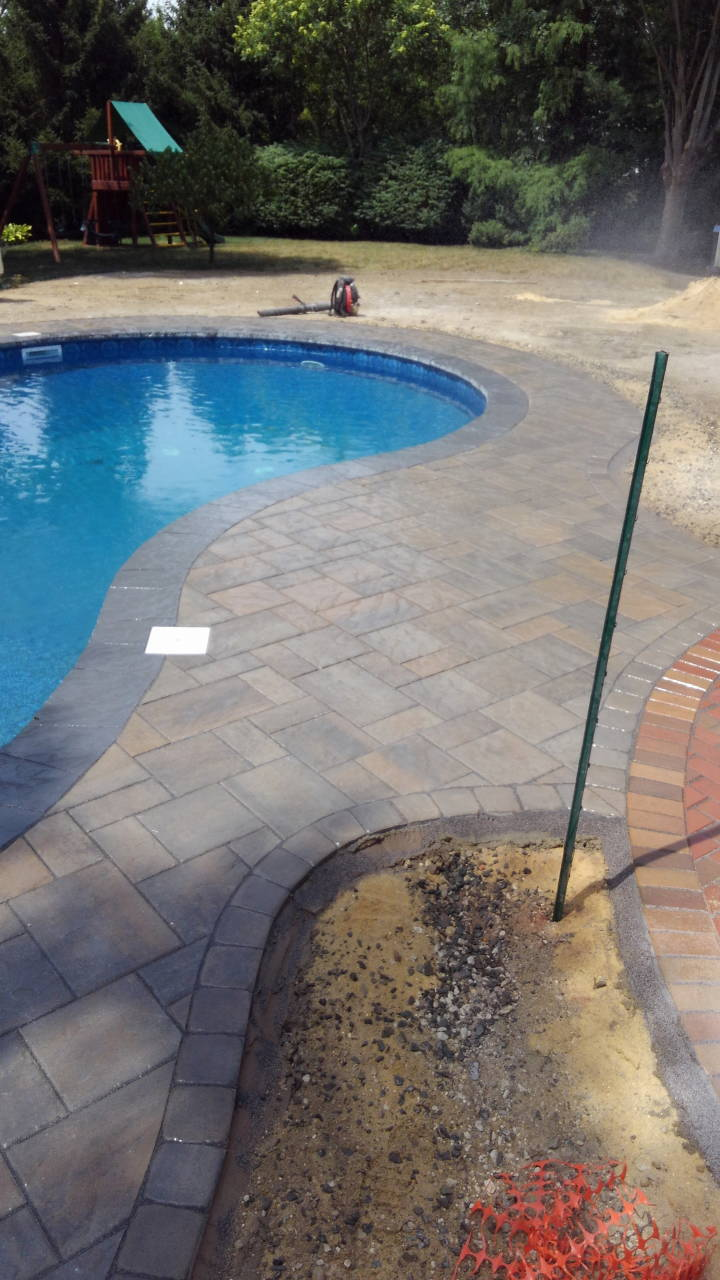 After Pool Paver Patio