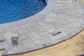 Installing a Paver Pool Patio