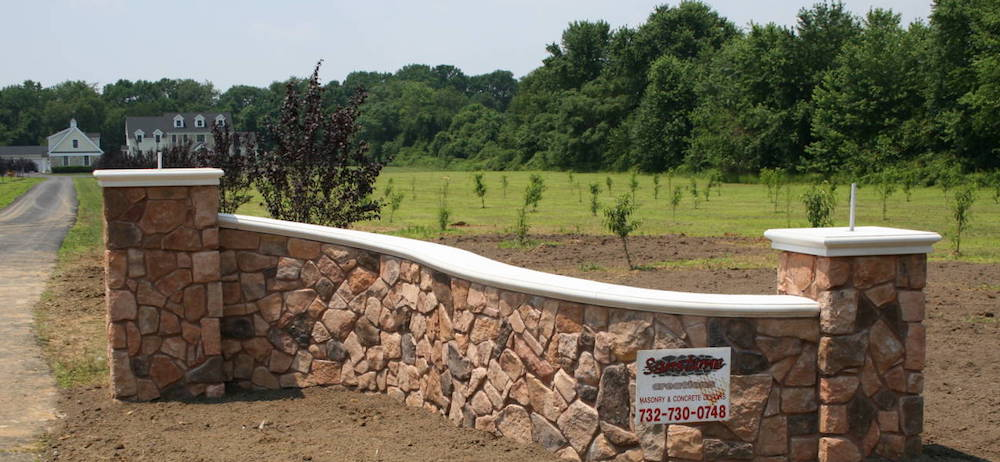 Stone Entry Wall New Jersey