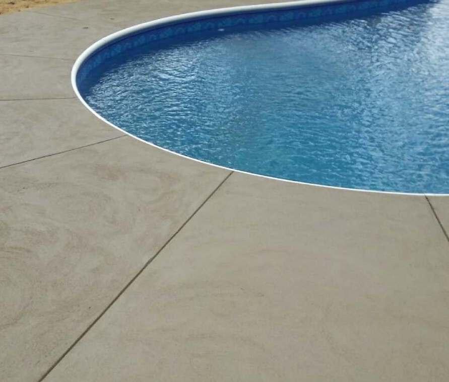 Concrete Pool Patio Wall NJ