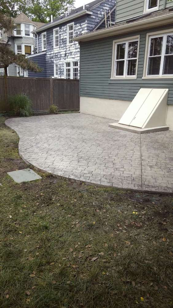 Stamped Concrete Patio Sandstone Creations