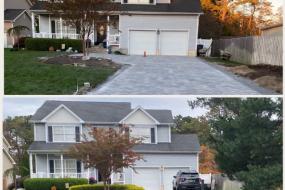Paver stone driveway New Jersey